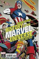 History Of The Marvel Universe Comic Issue 2 Cover B Variant Modern Age 2019