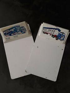 Vintage Pair of West Bend Transit Service Metal Clipboards