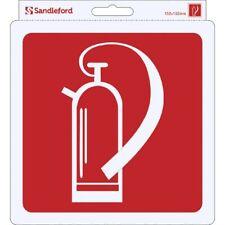 Sandleford Fire Extinguisher Self Adhesive Sign 152 W x 1 D x 152 H mm SIG83