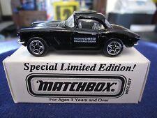 Matchbox ASAP Color Comp 1962 Chevy Corvette Reliacom Thoroughbred Transmissions
