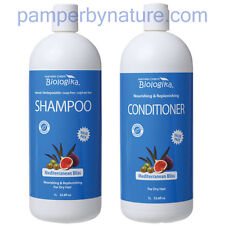 Biologika Mediterranean Bliss Shampoo + Conditioner Duo Pack - 2 x 1 Litre