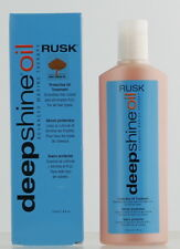 Rusk Deep Shine Protective Oil Treatment 4 Fl Oz, Brand New, Ready to Ship