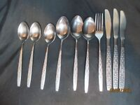Orleans Silver Co. Stainless Olinda Pattern 10 Pieces