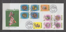 Philippine Stamps 1993 Philippine Orchids set on FDC