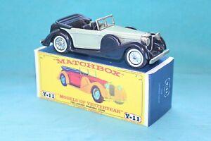 Matchbox Yesteryear Y11-3 Lagonda Drophead Coupe (1938) - Code 3 (E24)