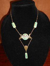 AN EGYPTIAN REVIVAL NECKLACE ART DECO PERIOD