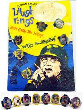 1968 Vari Vue Laugh In Ultra Rare 1st Issue Flicker Rings & Gumball Header Card