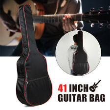 "Guitar Bag Cover Soft Case Holder For Acoustic Guitar 41"" 5mm Shoulder Strap New"