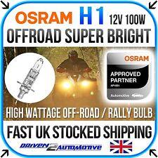 1x OSRAM H1 12v 100w SUPER BRIGHT OFFROAD BULB FOR BMW 3 (E30) 323 i 09.83-08.86