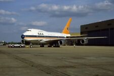 PHOTO  SOUTH AFRICAN AIRLINES BOEING 747SP ZS OPB OUTENIQUA AT HEATHROW 1986