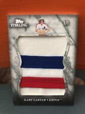2008 Topps Sterling Gary Carter Jumbo Expos Patch #'d 1/1