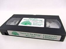 VHS - PAUL OTT - Touch of The South 1991 Dixie Springs Music - SIGNED