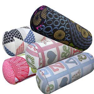 Bolster Cover*A-Grade Cotton Canvas Neck Roll Tube Yoga Massage Pillow Case*LL6