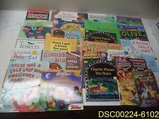 Lot of 47 Childrens Books, Gingerbread Man, Barbie, Pete cat, Dog A Donut