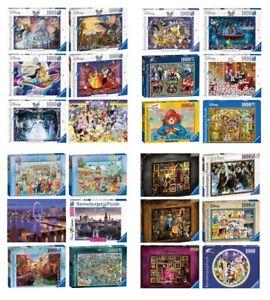 Ravensburger 100-1000 Pieces Jigsaw Puzzles inc Disney Harry Potter