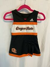 ADIDAS Oregon State Beavers Cheerleader Outfit Cheer Dress OSU Size 12M