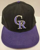 NEW Colorado Rockies New Era 59fifty MLB Fitted Hat Cap 7 3/8 Made in the USA
