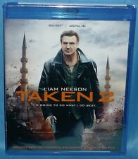 Blu-ray :Taken 2 (Theatrical & Unrated Version) Liam Neeson New Sealed Free Ship