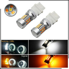 2pcs High Power 3157 Dual-Color Switchback 28-SMD Samsung LED Turn Signal Bulbs