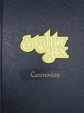 College Yearbook Cazenovia College Cazenovia New York Cazenovian 1986