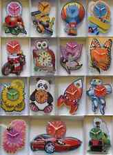 CHILDRENS WALL CLOCK.NEW & BOXED.15 DESIGNS. BUTTERFLY,PANDA,OWL,MOTORBIKE ETC