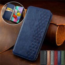 Magnetic Leather Wallet Card Slots Phone Cover for Samsung S21 Plus S10 A21S A71