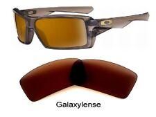 Galaxie verres de rechange pour Oakley Cache 1&2 Lunettes de soleil marron 100%