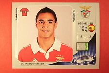 PANINI CHAMPIONS LEAGUE 2012/13 N. 477 RODRIGO BENFICA BLACK BACK MINT!