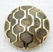 VTG Western Germany Gold Tone Geometric Scarf Clip