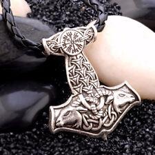 Norse Vikings Amulet PENDANT Necklace Goat Thor's Hammer Pendant Necklace
