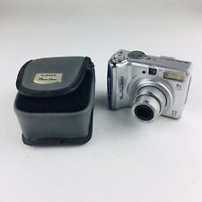 Canon PowerShot A550 7.1MP Digital Camera - Silver With Carrying Case