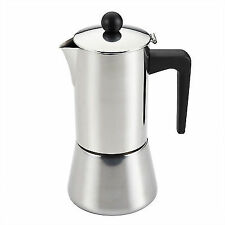 BonJour 53917 Stainless Steel 6 Cup Stovetop Espresso Maker