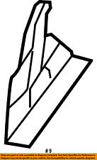 CHRYSLER OEM Rear Seat-Latch Right 68050841AA