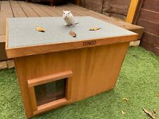 More details for feral stray outdoors cat house kennel shelter cat den  <<fully assembled>