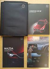 Genuine Mazda CX-5 guide de référence rapide Owners Manual Wallet 2017-2018 C-124
