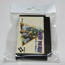 Metal Gear Nintendo Famicom 8-Bit Japan Japanese KDS-ME Original Cartridge