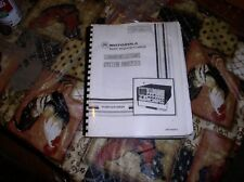 Motorola repro r2001a repair service manual