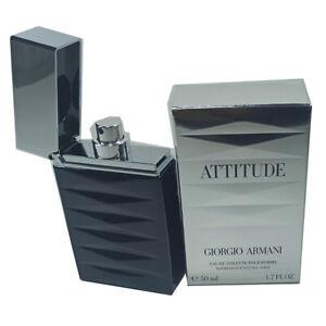 Attitude Giorgio Armani 50 Ml Eau De Toilette Pour Homme Profumo Uomo 476