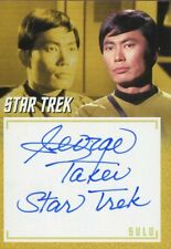 Star Trek TOS Archives & Inscriptions Variant Autograph A19 George Takei