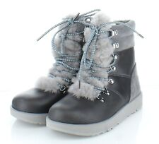 J48 NEW $220 Women's Size 7 M UGG Viki Genuine Sheepskin Waterproof Boots