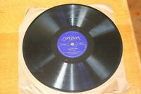 "Salty Holmes I found My Mama Dont Shed Your Tears 78 London Label 10"" Record"