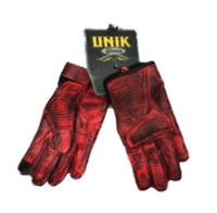 Men's Red Motorcycle Gloves With DuPont™ Kevlar™ lined palm 8175