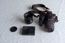 Sony Alpha SLT-A65VL 24.3MP (Kit mit DT 18-55mm Objektiv) + Kabelfernbedienung