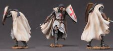 tin toy soldiers  painted 75mm Medieval knight