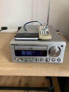 Onkyo CR-505 DAB HiFi  Amp/CD/Tuner c/w Remote And Bluetooth Adapter