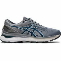 ASICS 1011A794 020 GEL NIMBUS 22 KNIT Piedmont Grey Mako Blu Men's Running Shoes