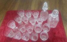 Drinkware/Stemware Clear Crystal Webb Corbett Crystal & Cut Glass