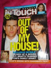 InTOUCH 2008 08/11 Miley CYRUS Christian BALE MADONNA