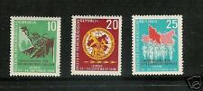 EAST GERMANY # 401-3 MNH Spartacists Sports Leipzig