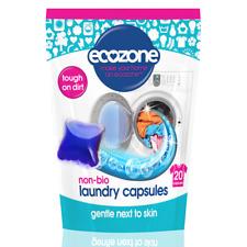 More details for ecozone non bio laundry liquid capsules - 20 capsules